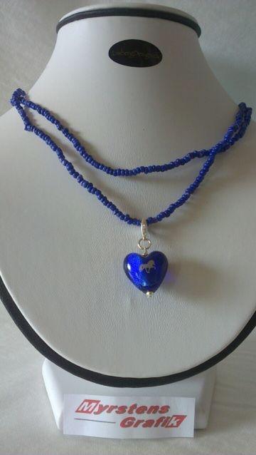 blått hjärta sms