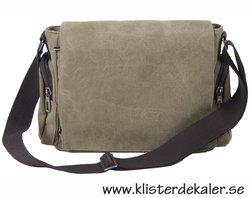 Trendig axel-väska