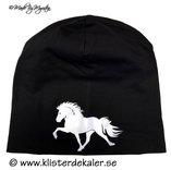 Hat reflective Icelandic horse