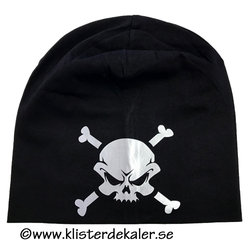 Hat reflective skull