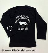 Långärmad T-shirt baby. Fjording, så det så