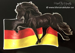 Icelandic horse Germany flag