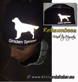 Hat, Golden retriever REFLECTIVE