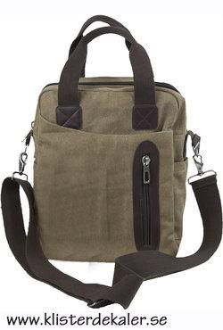 Trendig axel-väska, stående format