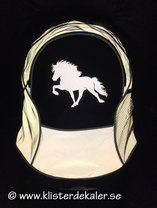 Backpack reflective Icelandic Horse