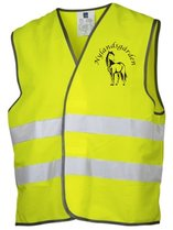 Reflective vest whit your own print