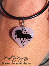 Necklace Icelandic horse