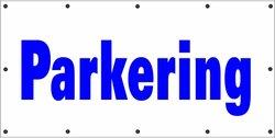 Banderoll Parkering