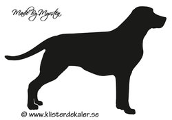 Labrador decal