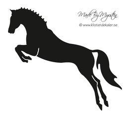 jumping horse single