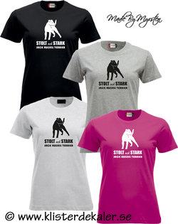 T-shirt Jack Russell Terrier, stolt och stark