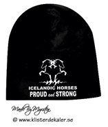Hat Icelandic horses Proud and strong