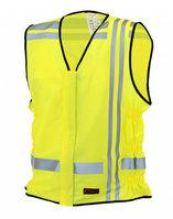 MC vest, reflective