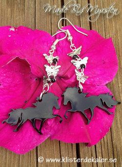 Earrings Icelandic horses 2