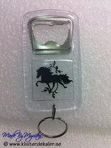 keychain bottle opener Icelandic horse
