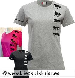 T-shirt Gångart Islandshäst