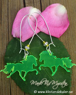 Earrings Icelandic horses 3