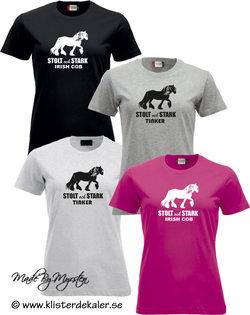 T-shirt Tinker - irish Cob, stolt och stark