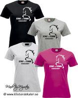 T-shirt Icelandic horse, stolt och stark