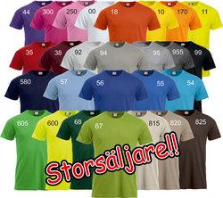 Unisex T-shirt nya Classic  (27 olika färgval)