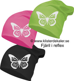Hat reflective Butterfly