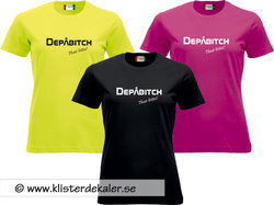 T-shirt Depåbitch