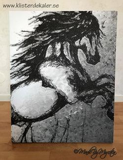 Tavla Häst 60x75