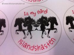 Stickers 4 Icelandic horses