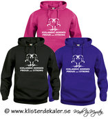 Basic Hoody Icelandic horses proud and strong