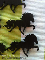 Contour cut Icelandic horse magnet