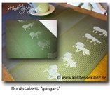 Tablecloth Icelandic horse gates