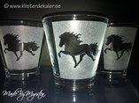 Lantern Icelandic horses