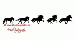 Wall stickers Icelandic horses