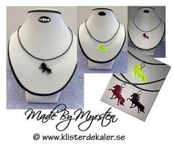 Necklace Icelandic horse